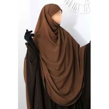 Hijab / Khimar Extra Long Hafsa - Cannel - Umm Hafsa