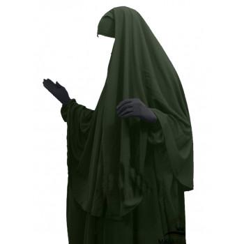 Hijab / Khimar Cape - Kaki - Umm Hafsa