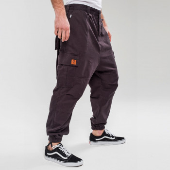 Saroual Pantalon Cargo Basic Anthracite - Usual Fit - DC Jeans