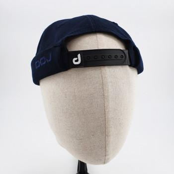 Couvre Chef - Docker Hat TWILL - Bleu Nuit - DC Jeans