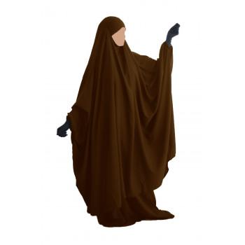 Big Jilbab 2 Pièces Jupe - Marron - Jilbeb Umm Hafsa