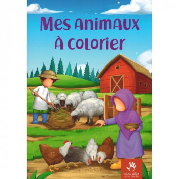 Mes Animaux à Colorier - Edition Muslim Kid