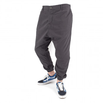 Saroual Chino Tissu Léger - Pantalon Ville Strech Anthracite - Usual Fit - DC Jeans