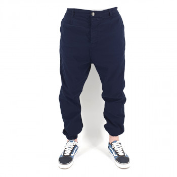 Saroual Chino Tissu Léger - Pantalon Ville Strech Bleu Marine - Usual Fit - DC Jeans