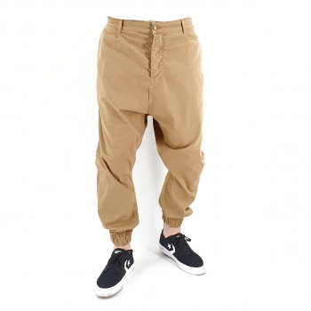 Saroual Chino Tissu Léger - Pantalon Ville Strech Beige - Usual Fit - DC Jeans