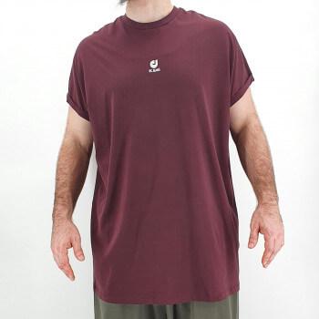 Tshirt Oversize BAT Bordeaux - Manche Courte - DC Jeans