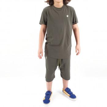 Ensemble Hem Kid - Kaki - Sarouel + T-Shirt de 6 à 14 ans - DC Jeans