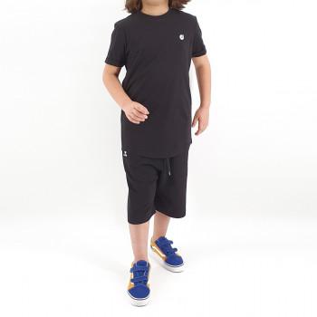 Ensemble Hem Kid - Noir - Sarouel + T-Shirt de 6 à 14 ans - DC Jeans