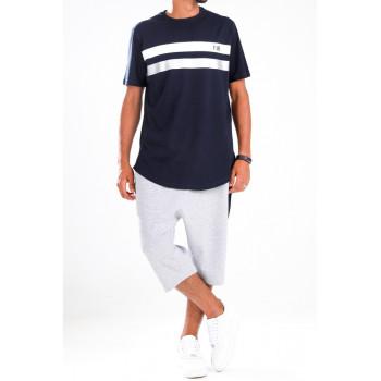 Ensemble Harvard - Bleu et Gris - T-Shirt Oversize - Saroual Djazairi - Na3im