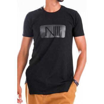 Tshirt NIII Coton - Noir - T-Shirt Oversize - Na3im