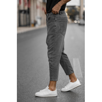 Saroual D1 FIT - Jeans Gris Foncé - LIGHT STONE - Coupe Djazairi - Timssan