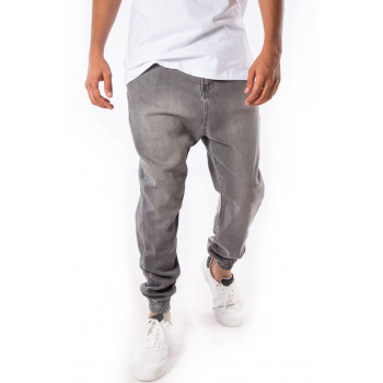 Saroual D3 FIT JEANS - Light GRIS Clair - Timssan