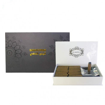 Coffret Encens Prestige - Black Edition - 20 Sticks Parfums d'Ambiance - Diamant