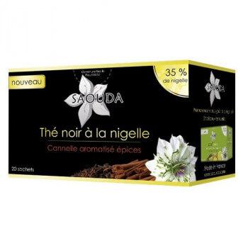 Thé Noir à la Nigelle - Habba Saouda - Saouda Nigelle Sativa