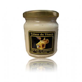 Miel Blanc de Kirghizistan - Trésor du Yémen - 250g