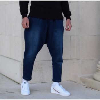 Sarouel Jeans Indigo Stretch Confort - Sahabi