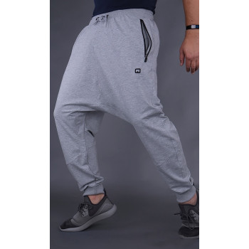 Sarouel Jogging Gris Clair Qaba'il : Athletik