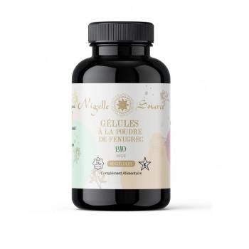 60 Gélules à la Poudre de Fenugrec BIO - Nigelle Source - 40 gr