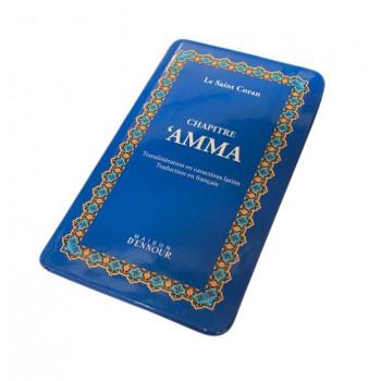 Chapitre Amma Bleu - Le Saint Coran Arabe / Français / Phonétique - Edition Ennour