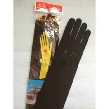 Gants noir pour femme