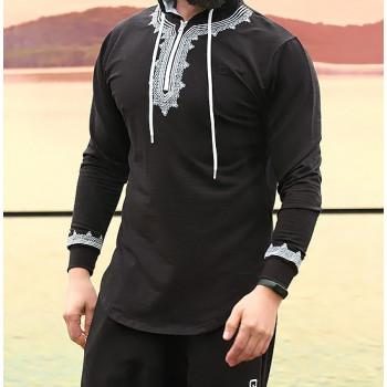 Sweat Marocco Up - Noir - Qaba'il : Etniz Oriental