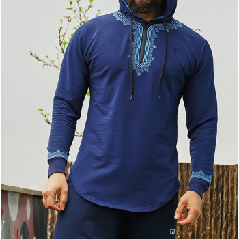 Sweat Marocco Up - Indigo - Qaba'il : Etniz Oriental