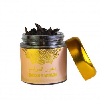 Encens Boisé - Bakhour Al Mawasim - Parfums d'Ambiance - Diamant - 80 gr