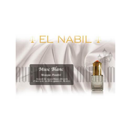 Musc EL NABIL Blanc 5 ml