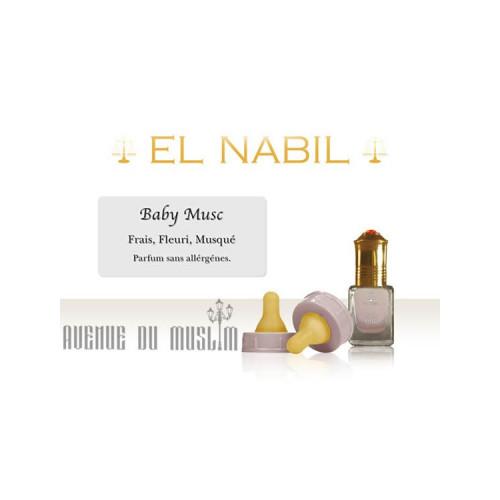 Musc EL NABIL Baby musc 5 ml