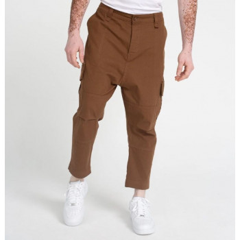 Pantalon Cargo Basic Straight Brown Ripstop - DC Jeans