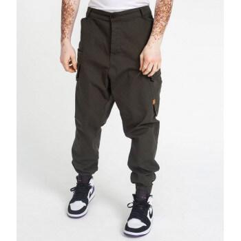 Saroual Coupe Pantalon Cargo CP12 Kaki Foncé Ripstop - DC Jeans