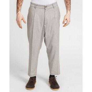Pantalon Pince Wool Bleu Chiné - DC Jeans