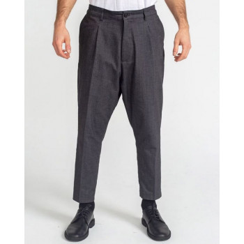 Pantalon Pince Wool Anthracite Chiné - DC Jeans