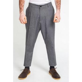 Pantalon Pince Wool Gris Chiné - DC Jeans