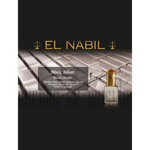 Musc EL NABIL Silver 5 ml