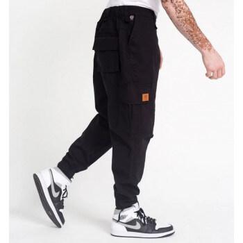 Pantalon Cargo Basic Black Ripstop - DC Jeans