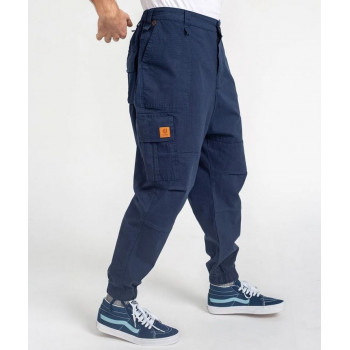 Pantalon Cargo Basic Navy Ripstop - DC Jeans