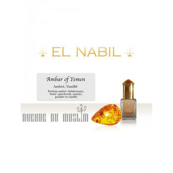 Musc EL NABIL Ambef Of Yemen 5 ml