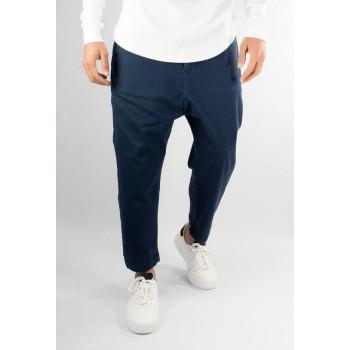 Pantalon Homme 7/8ème - Saroual D1 Chevy Bleu Marine - Coupe Djazairi - Timssan