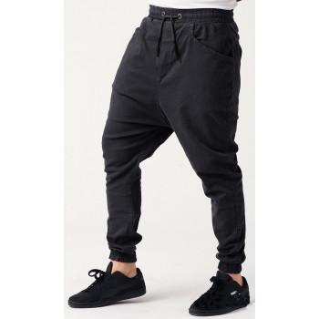 Sarouel Coton Stretch (Taille Petit) - Noir - Qaba'il : Coupe Djazairi - Pants Léger