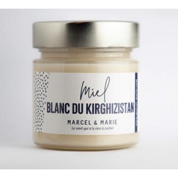 Miel Blanc du Kirghizistan - Marcel et Marie Apiculteurs Français - 250 gr