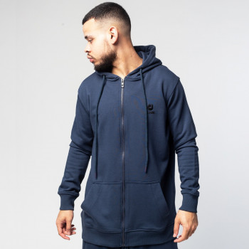 Sweat Capuche Zip Navy - DC Jeans