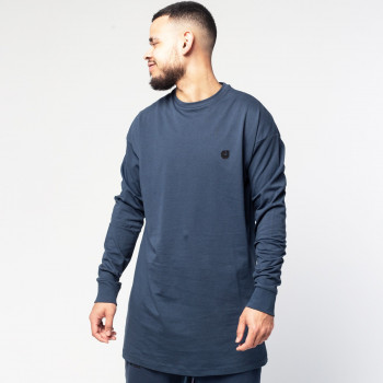 Tshirt Oversize Straight Navy - Manche Longue - DC Jeans