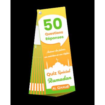 50 Questions & Réponses - Quiz Spécial Ramadan - Edition Al Qamar