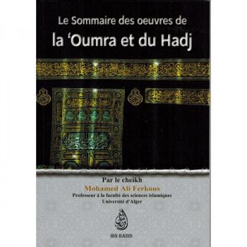 Le sommaire des œuvres de la Oumra et du Hadj