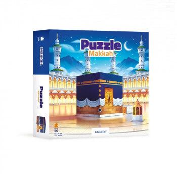 Big Makkah - Puzzle 104 Pces - 60 x 42 cm - Educatfal + 3ans