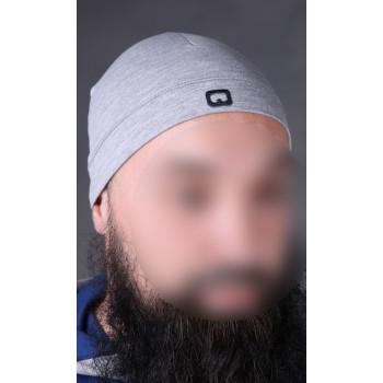 Bonnet qaba'il gris clair