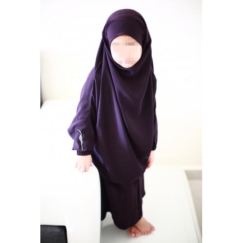 jilbeb fille violet