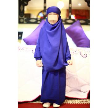 Jilbeb fille bleu roy