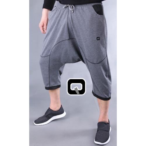 Pantacourt qaba'il jogging origin gris foncé
